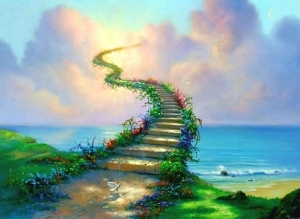 Follow that dream even when you can see the entire staircase