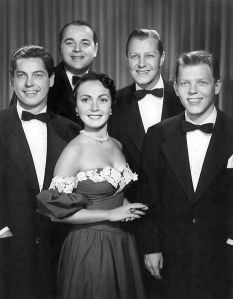 The Modernaires with Paula Kelly 1951