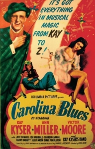 Movie poster for Carolina Blues
