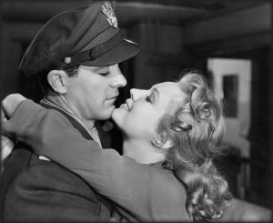 Dana Andrews and Virginia Mayo in a scene from The Best Years of Our Lives