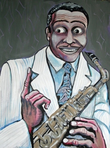 Louis Jordan  by Stephen Karla