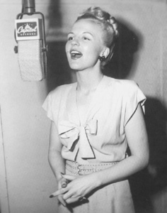 Peggy Lee circa 1945