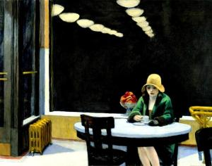 Automat by Edward Hooper 1927