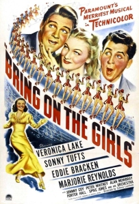 Movie poster for Bring On the Girls