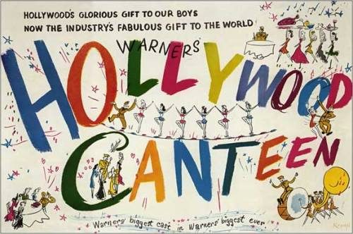 Movie poster for Hollywood Canteen