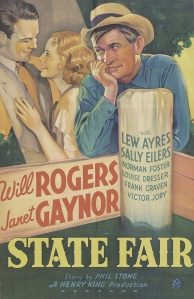 Movie poster for State Fair (1933)
