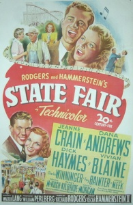 Movie poster for State Fair (1945)
