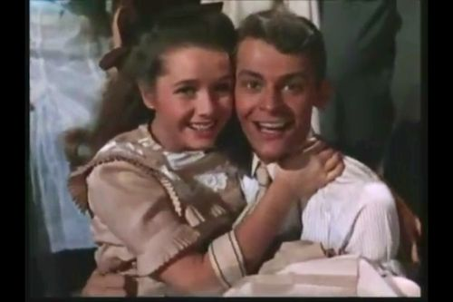 "Debbie Reynolds and Carlton Carpenter sing ""Aba Daba Honeymoon"" in the motion picture, ""Two Weeks With Love"""
