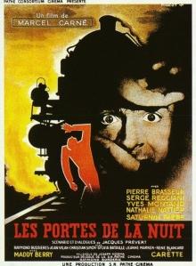 Movie poster for the film Les Portes de la Nuit